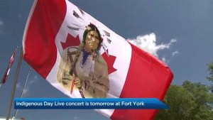 Indigenous Day Live concert at Fort York